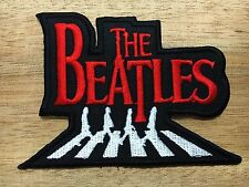 The BEATLES Band Embroidered Iron On Patch Sew, cool Music Rock Roll Classic 005