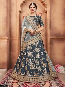 Green Wedding Lehenga Lengha Choli Designer Indian Ethnic Party Wedding Wear