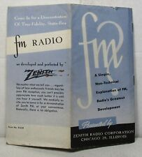 A simple explanation of Fm radio, 1940s(?) Zenith booklet