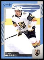 2020-21 UD O-Pee-Chee Blue Border #303 Cody Glass - Vegas Golden Knights