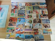 39 ASSORTED ITALY/ITALIAN USED PHONECARDS
