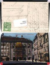 79466;Innsbruck Goldenes Dachl Altstadt 1912 pub Warger