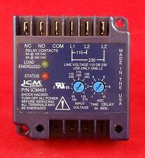 ICM491 ICM491C SINGLE PHASE MOTOR PROTECTION REPLACES ICM490