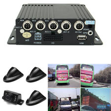 360°4 Channel Security Truck Car Cameras DVR Video Monitoring Recorder +Remote