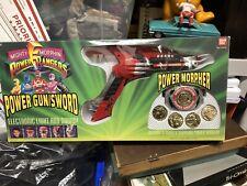 Mighty Morphin Power Rangers Power Gun Sword Morpher 1993 Bandai Original