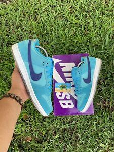 Nike SB Dunk Low Pro Blue Fury Men's Size 8.5BQ6817-400