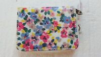 CATH KIDSTON ZIP TRAVEL POURSE-PAINTED PANSIES