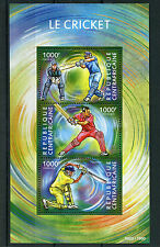 Central African Republic Sheet Sports Postal Stamps