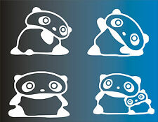 4 X STICKERS - Osos Panda - Light switch -VINILO-WALL DECAL-VINYL - No Disney