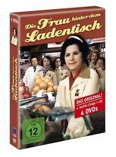 4 DVDs * DIE FRAU HINTER DEM LADENTISCH - KOMPLETTE SERIE  # NEU OVP &
