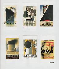 Série étiquettes Allumettes Tchécos. reproduction affiches 5  Brillant  Bateau