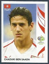 PANINI FIFA WORLD CUP-GERMANY 2006- #578-TUNISIA-CHAOUKI BEN SAADA