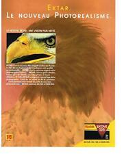 PUBLICITE ADVERTISING  1987   KODAK  ektar 125 le nouveau photoréalisme