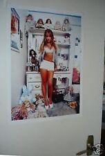 Britney Spears Colour Door Poster Room
