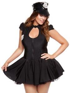 Ann Summers Sergeant Frisky Police Outfit Sz XL (20-22) *Plus Size*