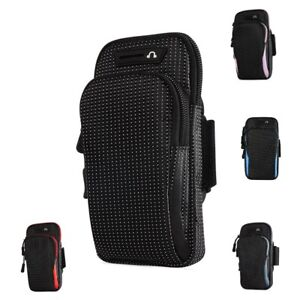 Armband Case Waterproof 6.5 Inches Running Cycling Bag Mobile Phone Card Holder