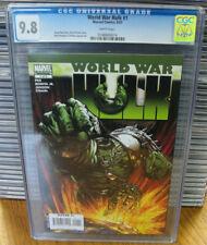 Cgc 9.8 Marvel World War Hulk #1 Direct 2007 Pak & Finch Cover Comic Mcu