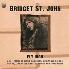 St John, Bridget - Fly High: Collection Of Album Highlights Singles [New CD] UK