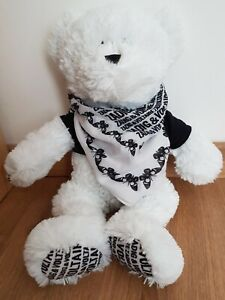 Peluche Doudou ours MARIONNAUD Blanc Zadig & Voltaire Pull Noir Love Neuf