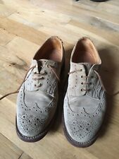 Trickers Suede Brogues