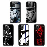 Star Wars Darth Vader Maul Imperial Stormtrooper Silicone Case Cover For iPhone