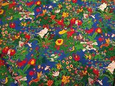 Half metre Children's Jungle Cotton Craft/curtain fabric
