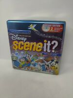 Disney™ Scene It? DELUXE Edition COMPLETE GAME (2005) w/Tin (Tin has some wear)