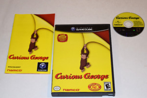 Curious George Nintendo GameCube Video Game Complete
