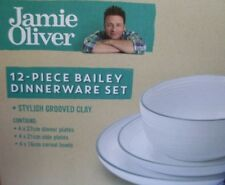 SALE ~ New JAMIE OLIVER Bailey 12Pc DINNER SET BOXED Mediterranean Kitchen - AUS