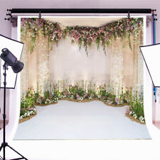 7x5ft Flower Wall Photography Background Photo Studio Backdrop Decor Props US