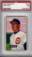 1951 BOWMAN #212 BOB RUSH PSA 7