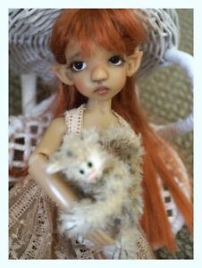 Kaye Wiggs original Cinammon dollfie~Lt. Tan~ Custom & Complete~ Please Peek?
