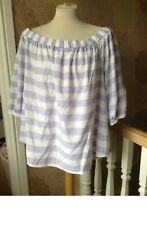 BNWOT M&S Lilac Tunic Top Size 24