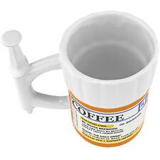 Prescription Syringe Mug - Big Shot Of Wake Your Ass Up RX 12oz Cup Coffee