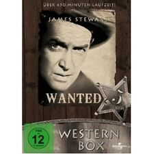 WESTERN BOX - 2 DVD NEUWARE JAMES STEWART,ROCK HUDSON,JULIA ADAMS