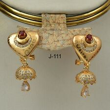 Pakistani Indian Fashion Jewelry Earring for Wedding Party & Gift J-111