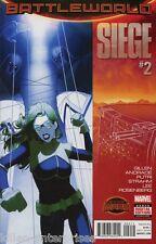 Siege #2 Comic Book 2015 Secret Wars Battleworld - Marvel