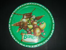 BOING VINTAGE ANTIQUE OLD TIN METAL Soda authentic Serving Tray original charola