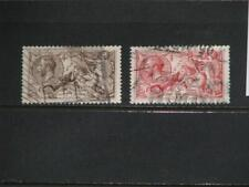 Great Britain, Scott# 179-180, used Vf