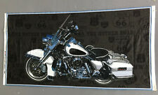 American Dream Motorcycle Fabric Panel Rt. 66 Blank Quilting Jean Plout