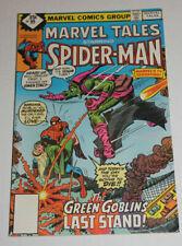 MARVEL TALES # 99 VF 8.0 MARVEL COMICS DIAMOND BOX VARIANT DEATH OF GREEN GOBLIN