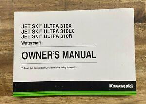 New Genuine Kawasaki  Ultra 310X 310LX 310R JT1500LG/MG/NG/PG Owner's Manual