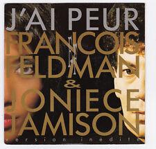45 TOURS SP FRANCOIS FELDMAN et JONIECE JAMISON J'AI PEUR BIG BANG 878 688 7