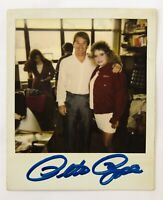 PETE ROSE Vintage 1970s AUTOGRAPHED / Polaroid PHOTO Reds / Original & Signed