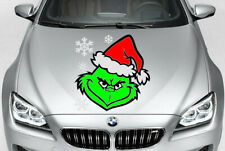 GRINCH CHRISTMAS CAR TRUCK VINYL DECAL GRAPHIC SIZE CHOICE