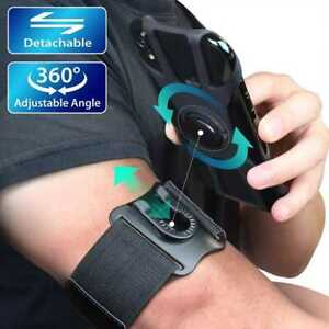 Sport armband adjustable Running smartphones Holder Pouch 360° angle