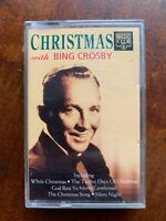 Christmas with Bing Crosby Audio Cassette Tape