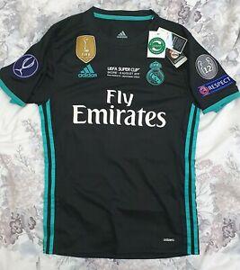 Real Madrid 2017/18 UEFA Super Cup Final Isco Adizero Shirt - BNWT