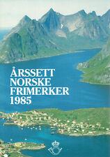 Norwegen **  MiNr 918 - 939 Jahrgang 1985 komplett
