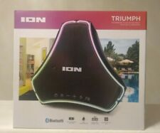 Ion Audio Triumph Waterproof Floating Boombox Speaker With Led Illumination